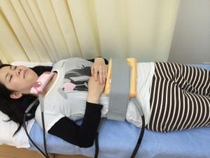 超短波患者さん写真2